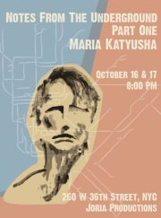 Maria Katyusha, part one Notes From the Underground